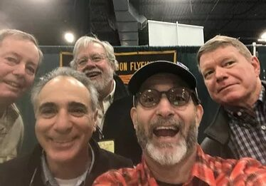 Board Members at The Fly Fishing Show